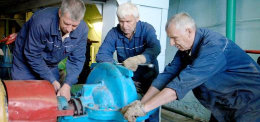 В Кусинской Центральной котельной идет проверка насосов
