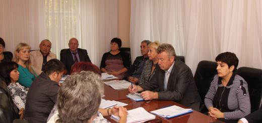Первое рабочее заседание вновь избранных депутатов