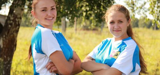 Саша Хлебникова и Маша Беликова считают, что спорт - это не только движение вперед, но и возможность посмотреть мир