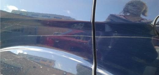 Царапина на машине