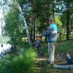На рыбалку ходят не только за рыбой, здесь отдыхают душой