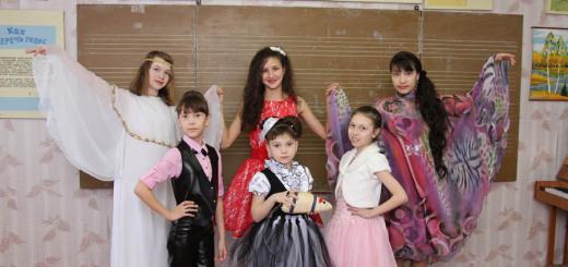На фото: Юные победительницы в сценических костюмах слева направо верхний ряд: Ульяна Школьникова, Лена Низзамова и Эльза Гадильшина, нижний ряд: Вика Губайдулина, Ксюша Прокопьева и Саша Старикова.