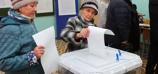 Голосование на участке 1117 шк 9