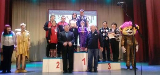 спортивная семья Огурцовы