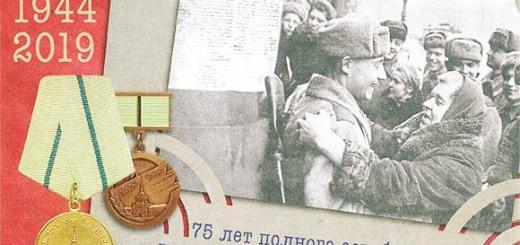 Поздравления Президента_Снятие блокады Ленинграда