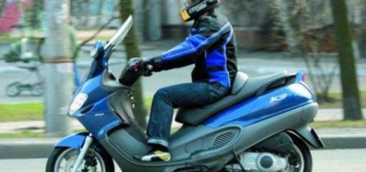 ПДД для скутера(1)