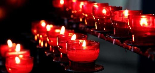 свечи ленинградцам