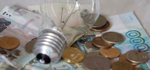 долги кусинцев за электроэнегрию