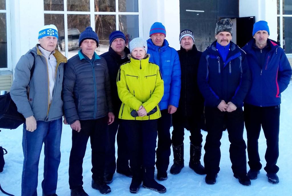 Ветераны лыжи