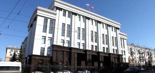 здание правительства ЧО